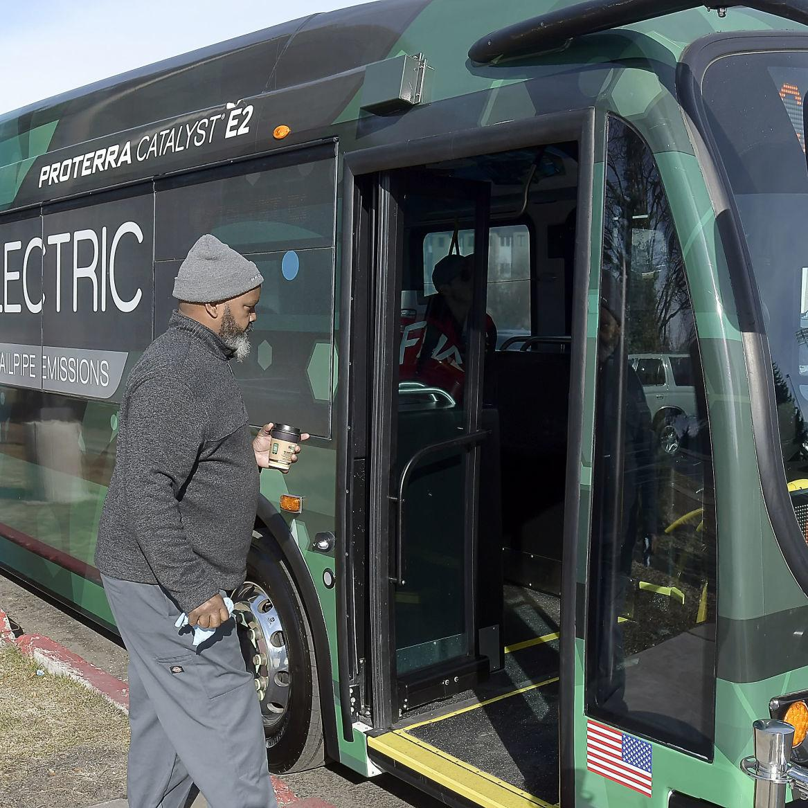 Demonstration at USU furthers consideration of electric buses on campus