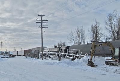 Train Derailment in Montpelier