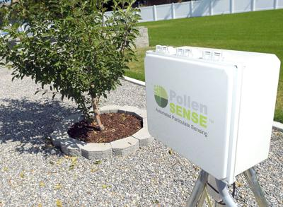 Utah company places automated pollen counter in Cache Valley