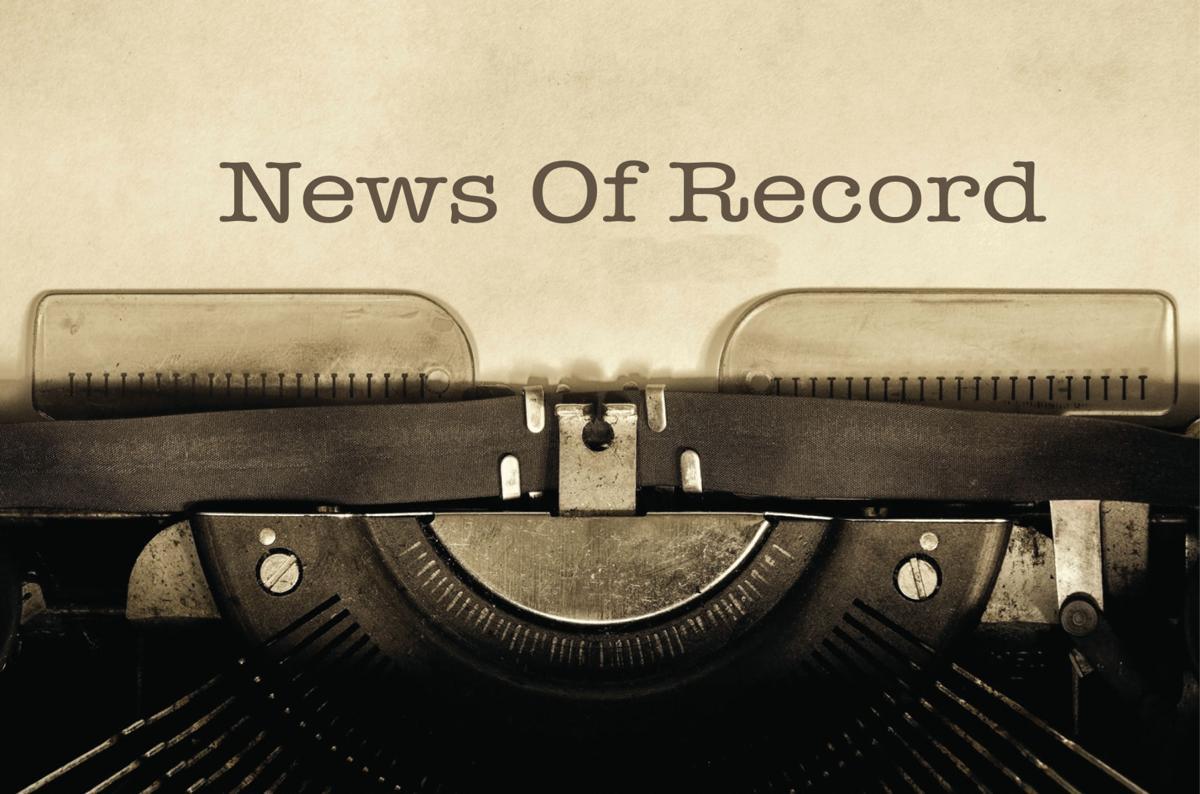 ■ News of Record Oct. 20, 2021