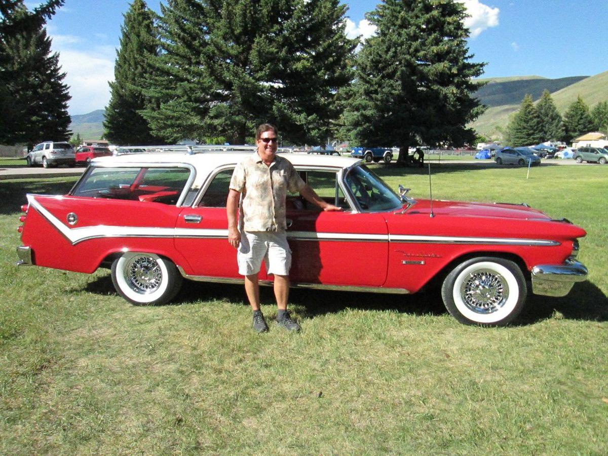 Doug West with 1959 DeSoto