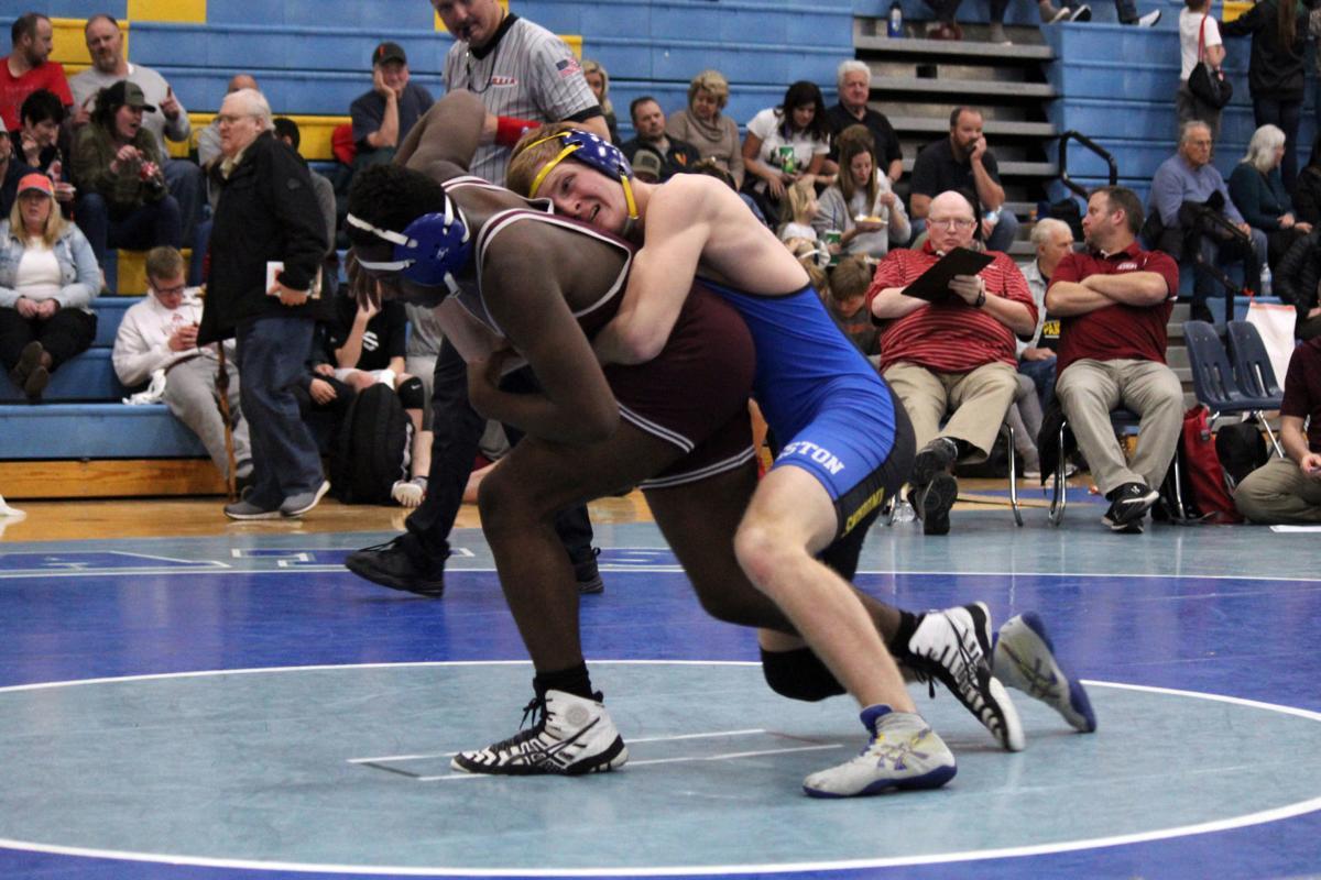 Caigun Keller wrestling