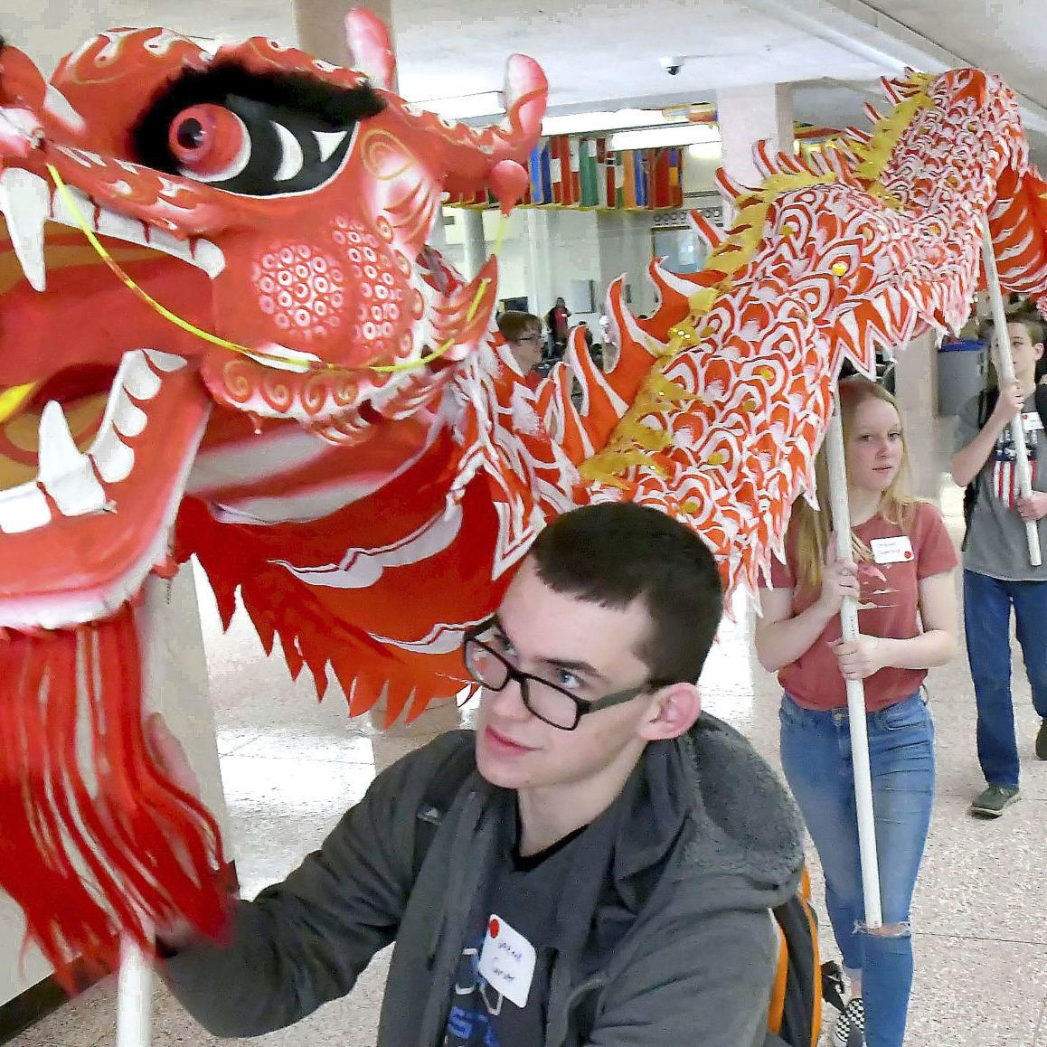 USU, districts host language fair for local high schoolers