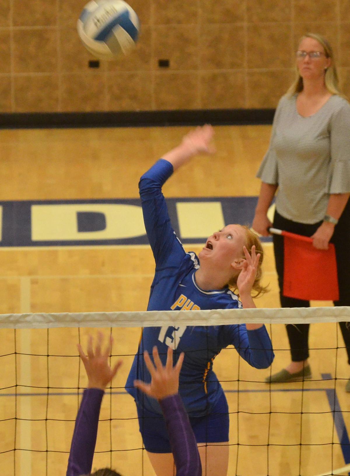 PHS volleyball kicks of season at home