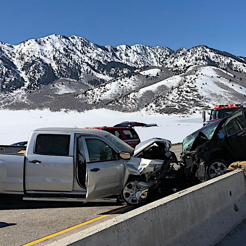 Sardine Canyon reopens after head-on collision