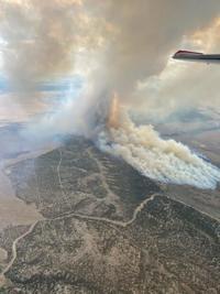 Crews contain wildfire near Utah-Idaho border