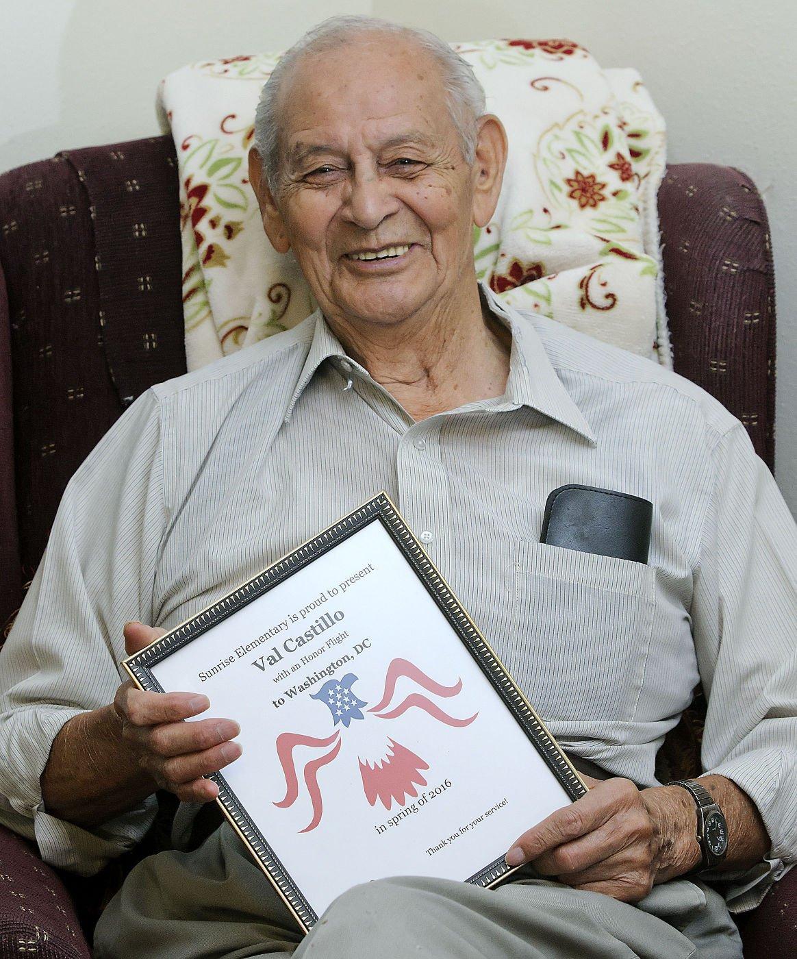 A joyful experience:' Smithfield WWII veteran returns from Utah