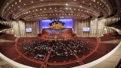 APTOPIX Mormon Conference