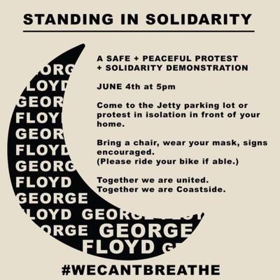 Demonstration in solidarity