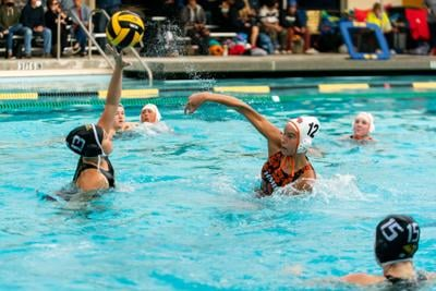 Half Moon Bay Varsity water polo player Jess Palmer-Sammons