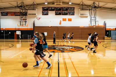 HMB HS Basketball Practice post COVID