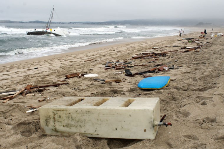 Shipwreck removed at Francis State Beach | Local News