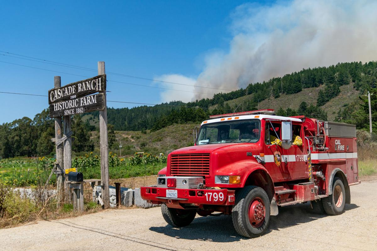 Fire threatens South Coast