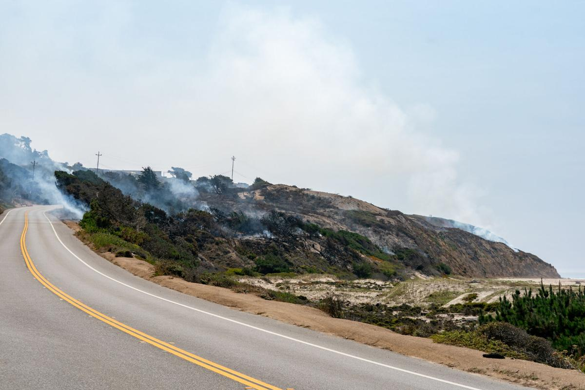 Big Creek Lumber during CZU Fires