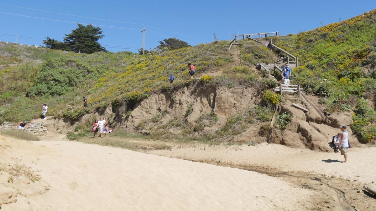 Montara Stairs descent