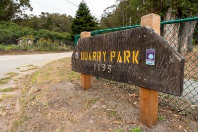 Quarry Park Sign