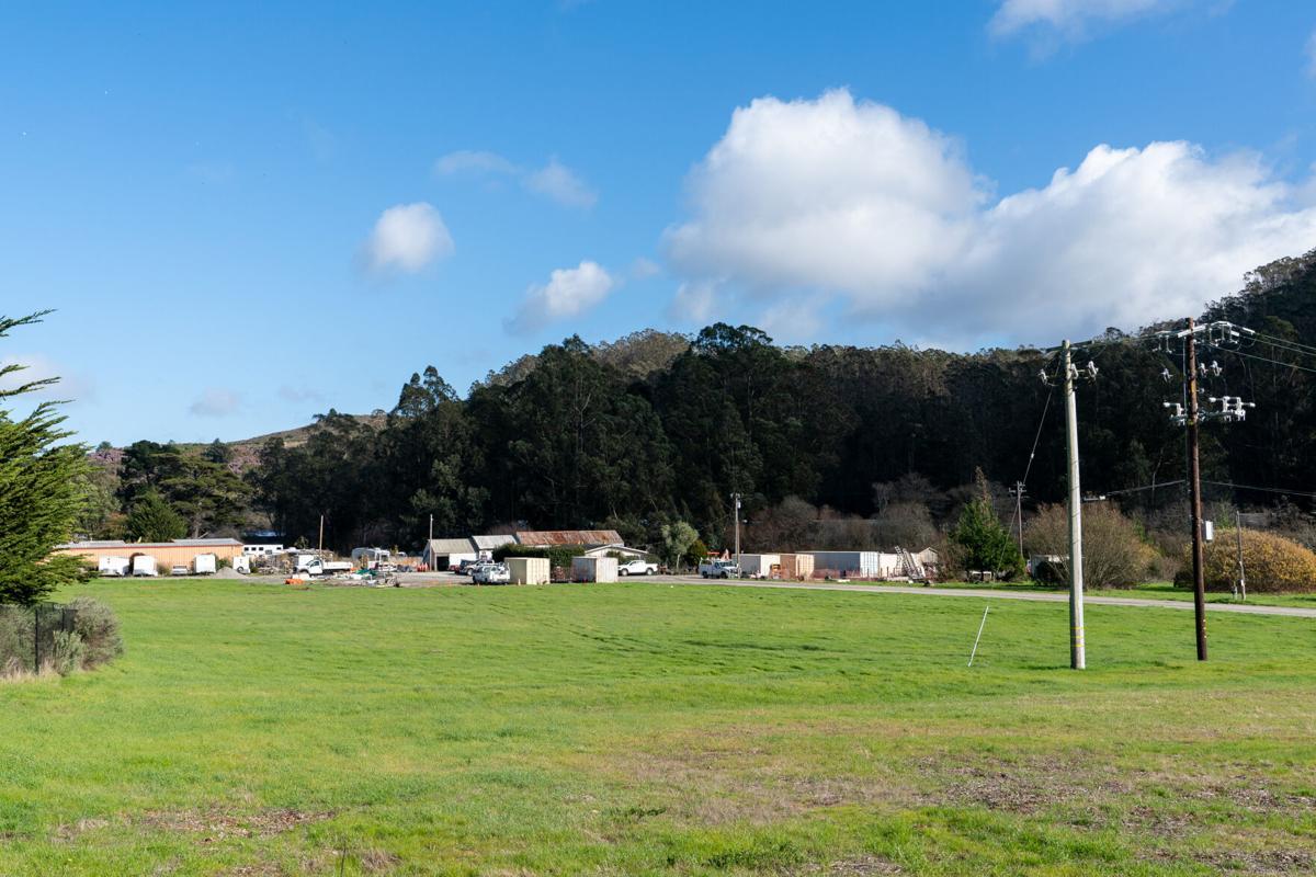 21 acre lot of public works