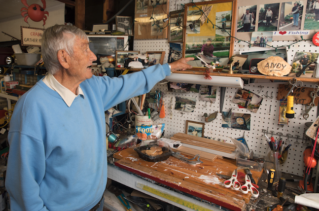 Andy Pappas has a lifetime of memories in his shop