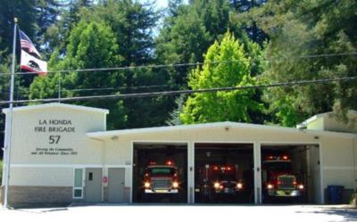 La Honda Fire Brigade station