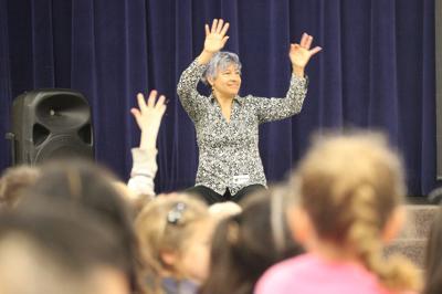 Local author Karen Ehrhardt