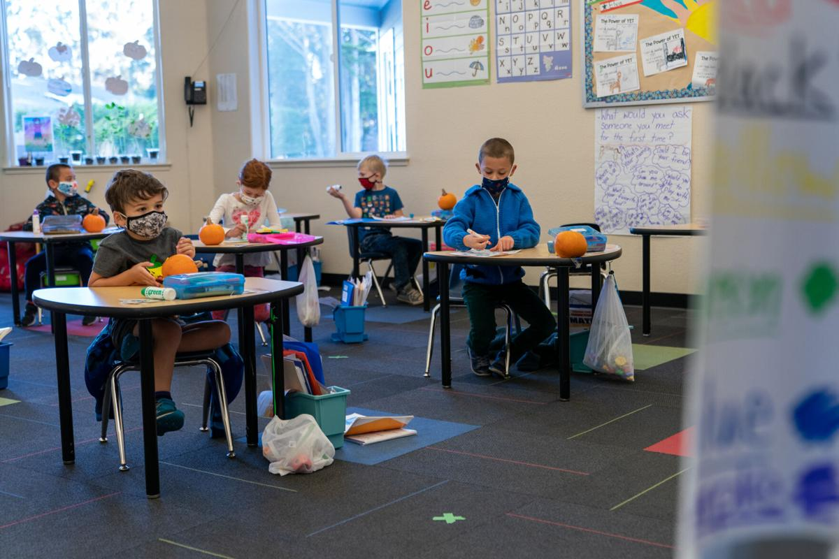 Classroom Pandemic-style
