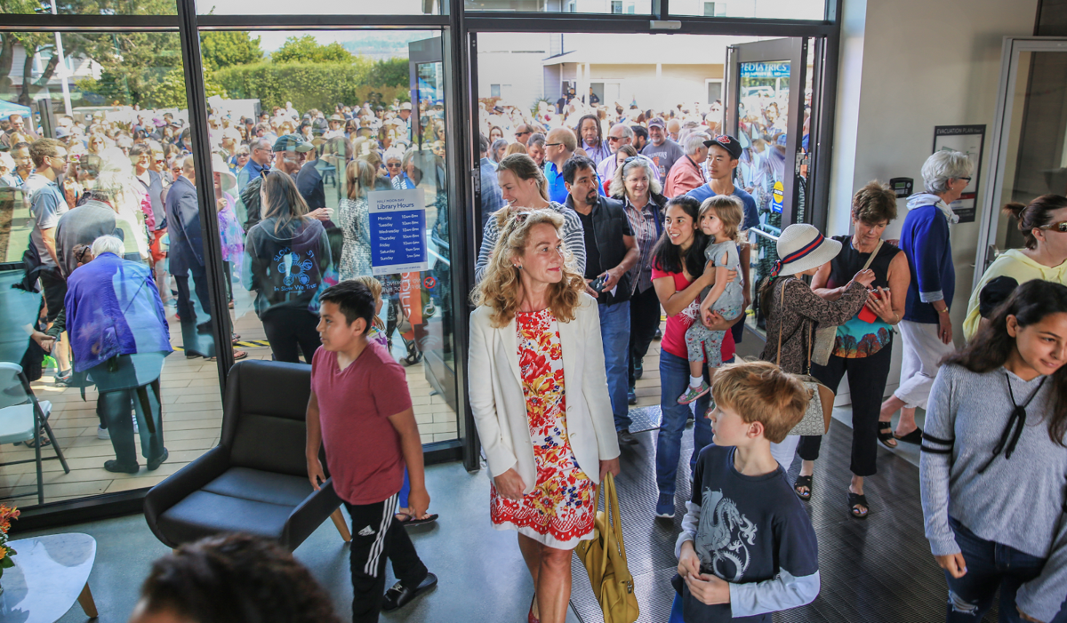 New HMB library opening is one for the books