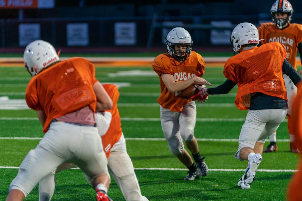 Cougar football drills