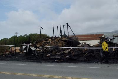 Burned Andreottis Farmstand