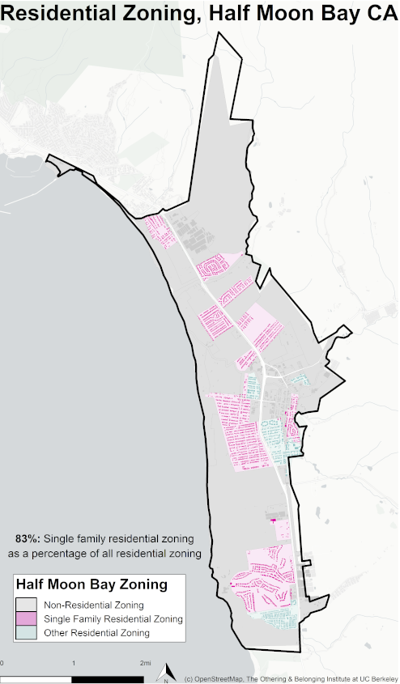 Single Family Housing map