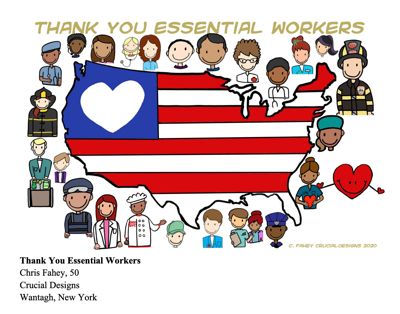 Thank you essential workers by vyris