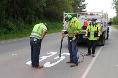 San Mateo workers change speed limit