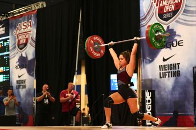 image-weightlifting Isabel Lahane