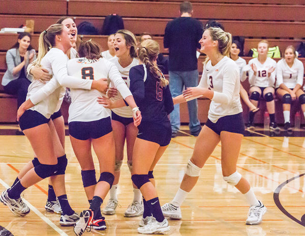 Volleyball team outlasts Hillsdale | Local Sports News ...