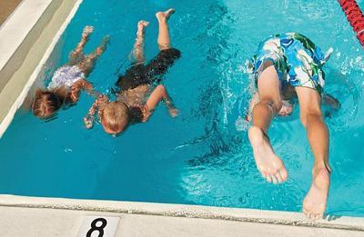 La Honda pool always a splash