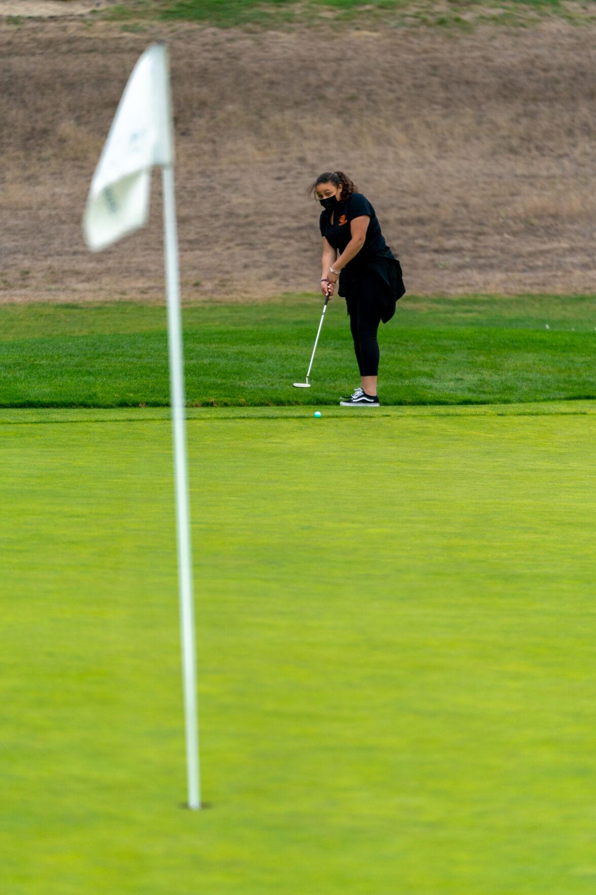HMBHS Girls Golf takes on El Camino