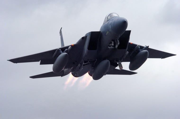 Mcdonnell douglas f 15 mini skirts Fighter Jets Intercept Hmb Pilot Local News Stories Hmbreview Com