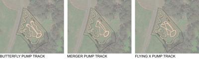 Pump Track Illustration