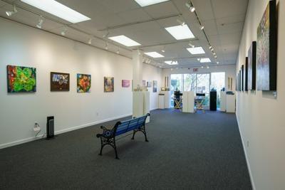 Rebecca Ellis's art on display