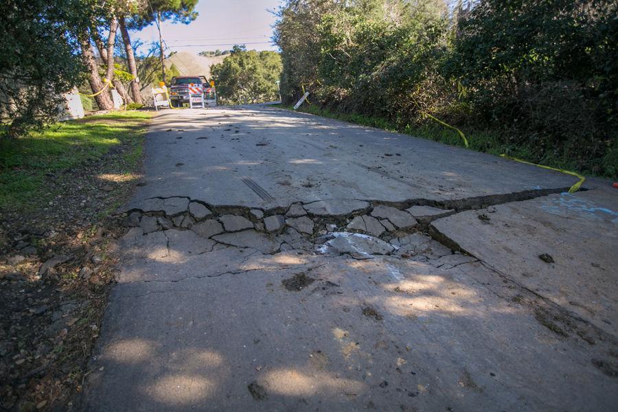 Road repairs needed