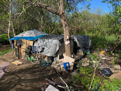 image - new homeless camp