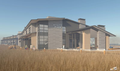 Proposed Hyatt on Main Street Illustration