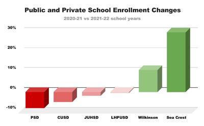 Public and Private School Enrollment Changes
