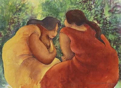 Diane Lee Moomey's painting