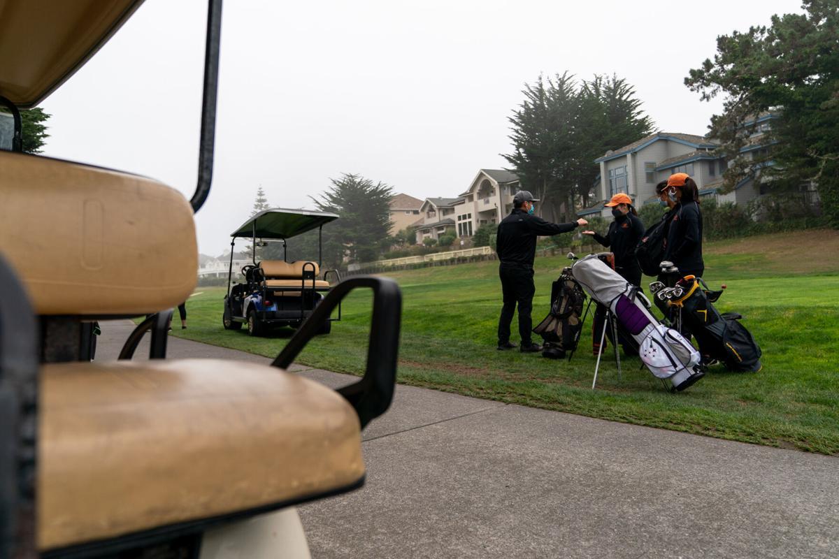 Half Moon Bay High School Golf Coach Aaron Paulino