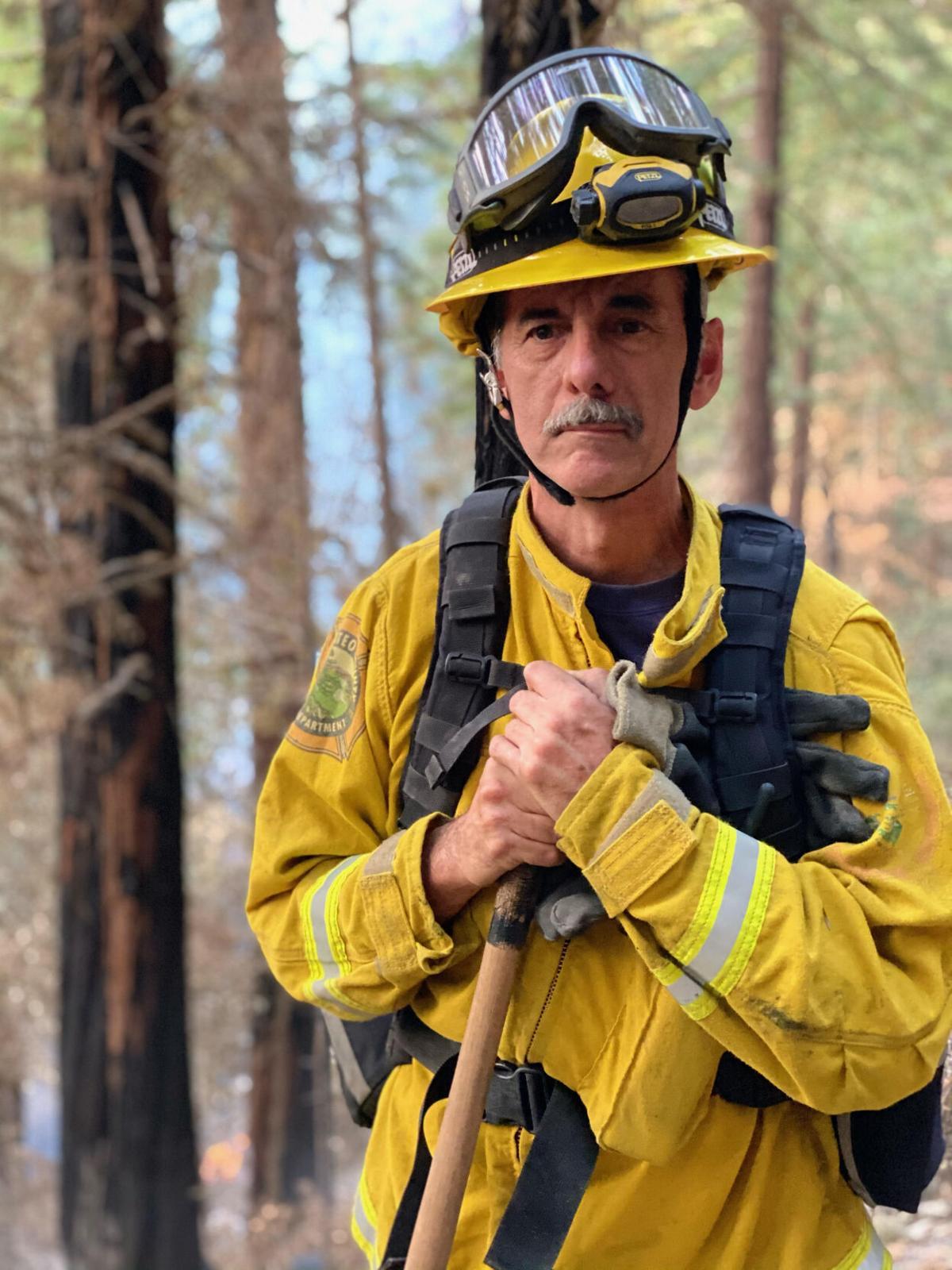 Kings Mountain Volunteer Firefighter