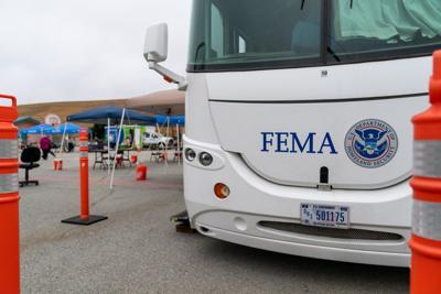 FEMA RV in Pescadero