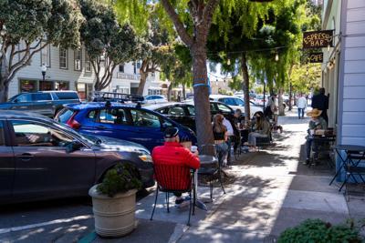 Bustling Main Street