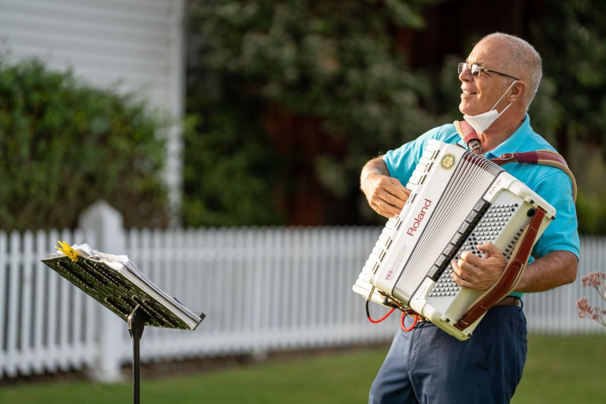 EJ Dieterle Plays the Accordion
