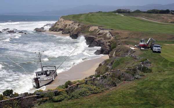Fishing vessel removed last week local news stories for Half moon bay fishing report