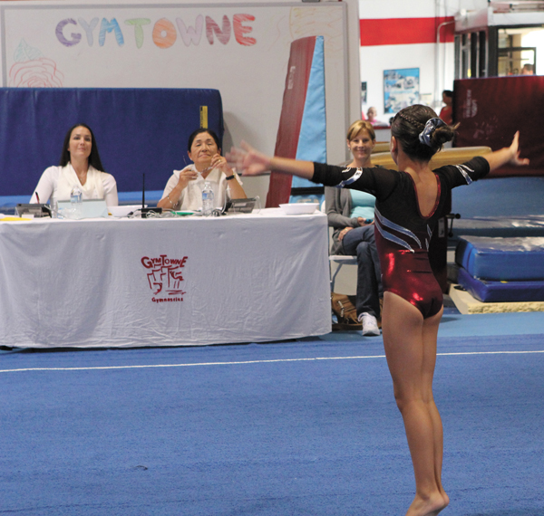 Top-10 Finishes For Local Gymnasts